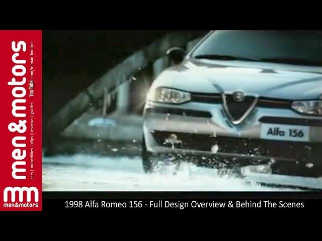 1998 Alfa Romeo 156 - Full Design Overview & Behind The Scenes