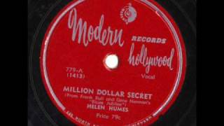 Million Dollar Secret by Helen Humes
