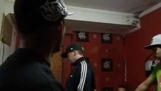 Mc Serjao Boladao feat Mc Dolar e Mc Euro no studio Charas Music