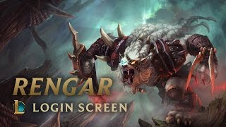 Rengar, the Pridestalker | Login Screen - League of Legends
