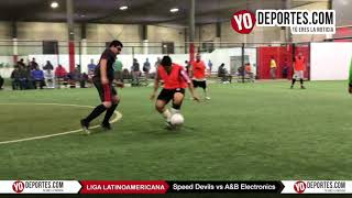 Speed Devils vs. A&B Electronics Liga Latinoamericana Jueves
