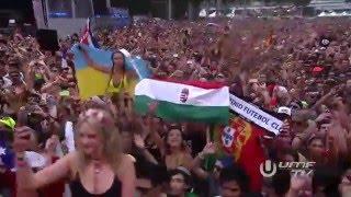 Tiësto - Hungarian flag @ Ultra Music Festival 2016