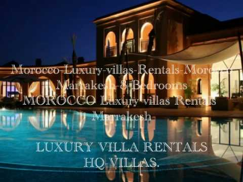 Morocco  Luxury Villa Rentals Marrakesh