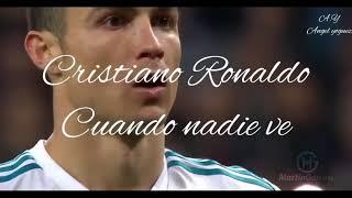 Cristiano Ronaldo Rap Motivación Cuando nadie ve   Se va del Madrid  OFICIAL