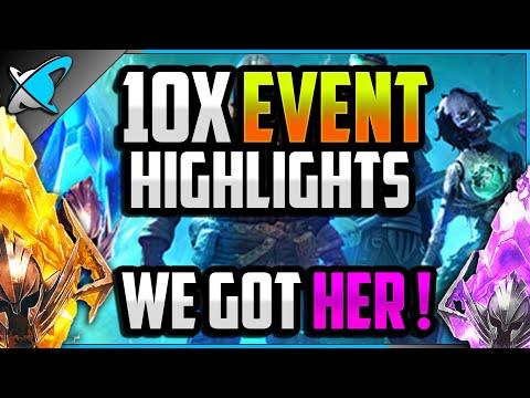 WE GOT HER !!! | Double 10X Event Highlights !! | RAID: Shadow Legends