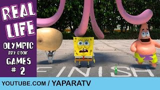 SpongeBob in real life 7 - Olympic Fry Cook Games (2)