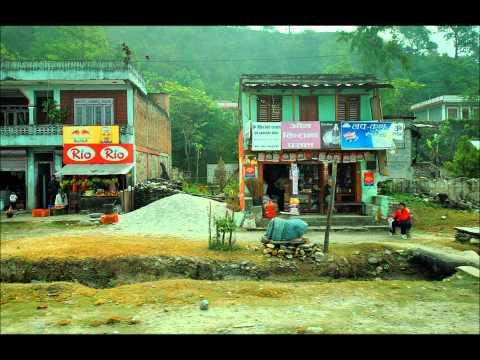 Bus from Pokhara to Kathmandu. Nepal. pt 1