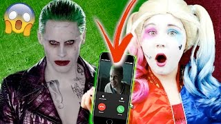 CALLING THE JOKER ON FACETIME!! OMG SO SCARY!!