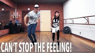 """CAN'T STOP THE FEELING!"" Dance ft 8 YEAR OLD Kea! | @MattSteffanina Choreography"