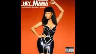 David Guetta ft Nicki Minaj & Afrojack - Hey Mama (Audio)