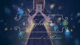♫Nightcore♫ - I Dreamed a Dream - Lyrics ✓ [100 Sub Special]
