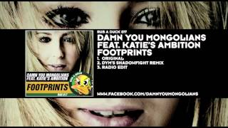 Damn You Mongolians feat. Katie's Ambition - Footprints
