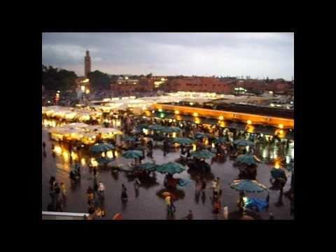 Rainy day in Marrakesch