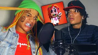 """HOW BOBBY SHMURDA RECORDED HIS VERSE ON """"STOOPID"""" BY 6IX9INE!"""
