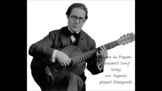 Chant du Paysan (The Peasant's Song), Grieg Op. 65, 2 played live by Glassynails