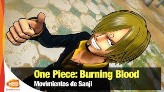 One Piece: Burning Blood - Los movimientos de Sanji