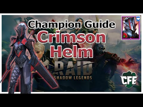 RAID Shadow Legends | Champion Guide | Crimson Helm