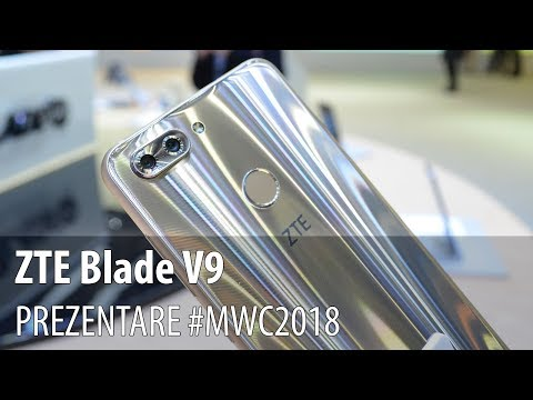 ZTE Blade V9 - Prezentare hands-on
