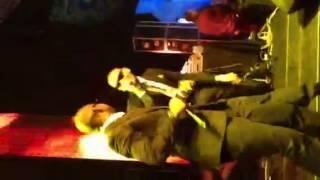 Khuli Chana and AKA performing with live band