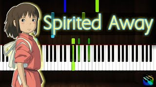 Joe hisaishi - One Summer's Day (Spirited Away) - Synthesia