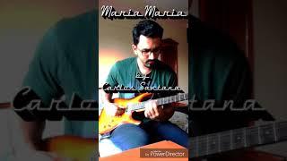 *Guitar Improv* Maria Maria by Carlos Santana