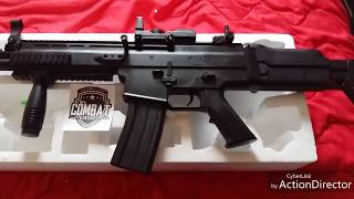 airsoft FN SCAR L SPRING umboxing