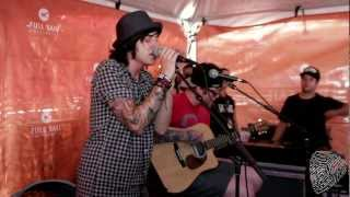 """If I'm James Dean, You're Audrey Hepburn""  // Sleeping With Sirens (Live at Vans Warped Tour)"