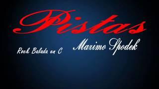 PISTA DE BALADA ROCK EN C PARA IMPROVISAR EN GUITARRA, PIANO, SAXO, ETC