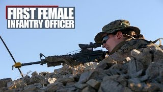First Female Marine Graduates Infantry Officer Course