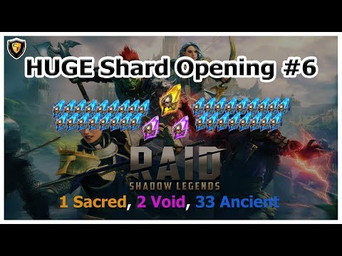 RAID Shadow Legends - HUGE Shard Opening #6