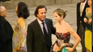 Julio Iglesias y Miranda, una boda por amor