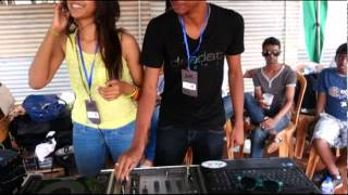 Gihan GX and DJ Tee @ F2 POWER BOAT Event Baire Lake,Colombo,Sri lanka