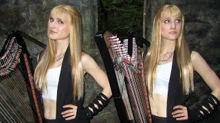 SWEET DREAMS (Eurythmics/Marilyn Manson) Harp Twins - Camille and Kennerly HARP ROCK