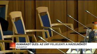 Elmaradt nemzetbiztonsági bizottság ülése: Az LMP feljelenti a házelnököt