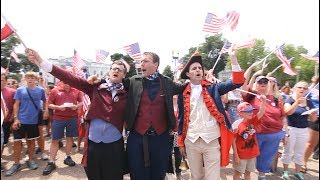 "Resistance Flashmob at White House ""Do You Hear the People Sing?"" from Les Miserables"