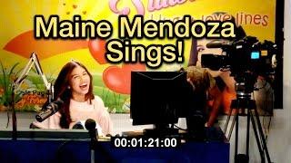 Maine Mendoza sings Ikaw Lamang! (SONG COVER)