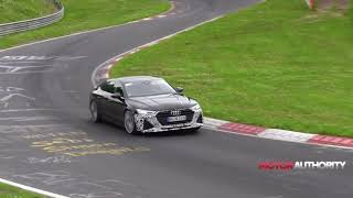 2020 Audi RS 7 spy video