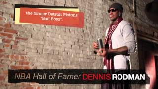 Dennis Rodman At The Art Factory