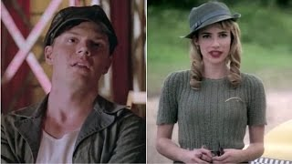 Emma Roberts, Evan Peters as co-stars on American Horror Story