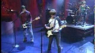 The Vines   Get Free Live Meltdown on Letterman, 2002 08 19