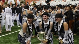 High School Band: 2016 New York Field Band Championship Show at Syracuse University Carrier Dome