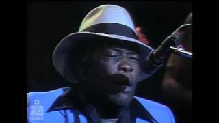 John Lee Hooker at the Festival International de Jazz de Montréal - 1980