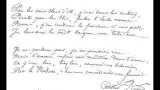 Sensation - Rimbaud/Jean-Louis Aubert