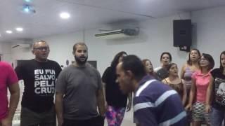 1° ensaio do Coral / Bola Singers Recife