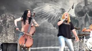 Apocalyptica - I'm Not Jesus - live in Gothenburg August 12 2009