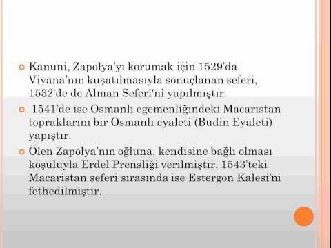 Kanuni Kimdir | Sultan Süleyman Hayatı