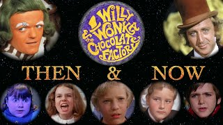 Willy Wonka and the Chocolate Factory Cast - Then and Now (2015)