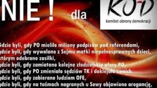 Gdzie był KOD ? Polacy zagrożeniem na Euro !?