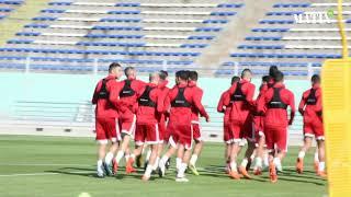 Equipe nationale : Séance d'entrainement à la veille du match contre l'Ouzbékistan