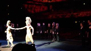 Can You Feel The Love Tonight - Lion King Official Press Launch - Edinburgh Playhouse